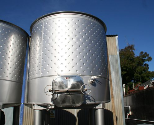 Red Wine Milti Tank for Murdoch James Estate