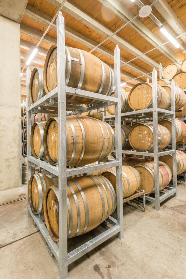 PS1 Racks for stacking barrels