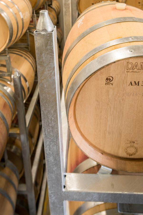 PS1 Wine Barrel Rack New Zealand Mt Difficulty